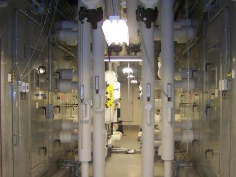 Air Handling Unit Utility Piping